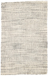 10' x 14' Area Rug Rectangle White Black Naturals Tobago Almand NAT26 Handmade