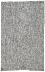 8' x 10' Area Rug Rectangle Black Silver Roland Haxel ROL04 Handmade Hand-Loomed