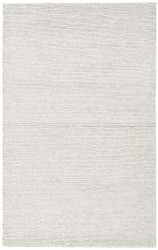 5' x 8' Area Rug Rectangle Light Gray Scandinavia Dula Braiden SCD25 Handmade Hand-Woven