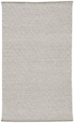 5' x 8' Area Rug Rectangle Gray White Sigrid Shox SIG03 Handmade Hand-Woven Contemporary