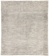 5' x 8' Area Rug Rectangle Dark Gray Ivory Rize Shervin RIZ04 Handmade Hand-Knotted