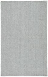 2' x 3' Area Rug Rectangle Gray Aqua Silvermine Snowberry SIV03 Handmade Hand-Woven