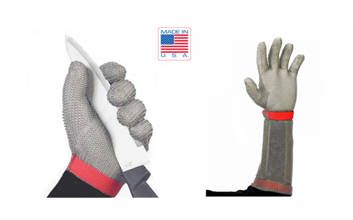 Stainless Steel Mesh Safety Gloves - US Mesh