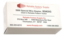 Genuine Reliable Fine Wire Staples for BS#18-20G Pattern Tacker