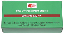 Staples for Bates L19, Pratic and Velox