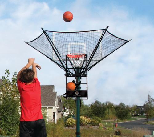 Denver Basketball Shooting Camps: IC3 Basketball Rebounding Machine