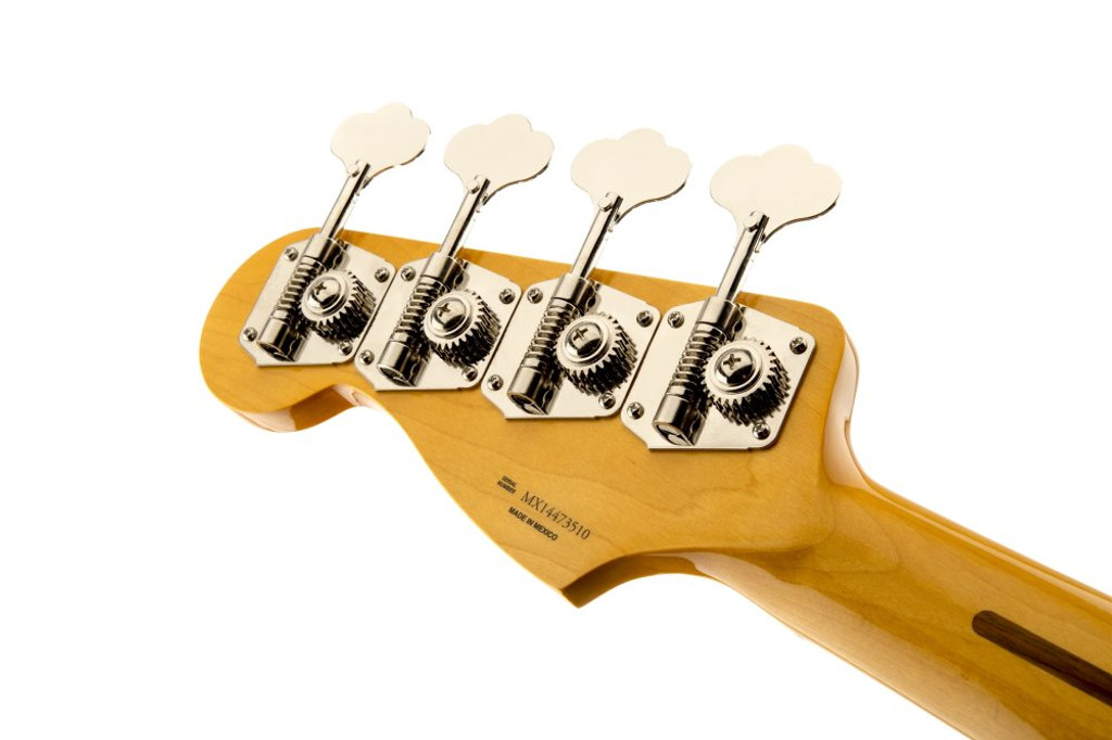 Fender 50's P Bass MN Blk- Headstock