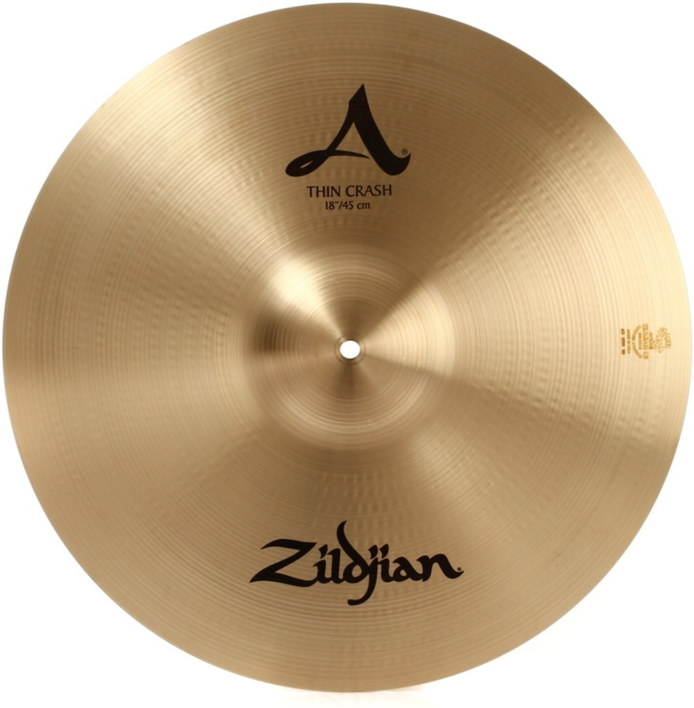 """ZILDJIAN A0232 18"""" A Medium Thin Crash"""