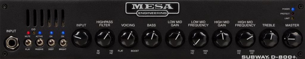 MESA BOOGIE Subway D800+ Head