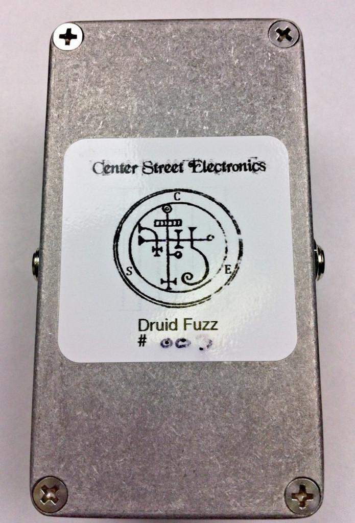 CSE Druid Fuzz Pedal bottom view