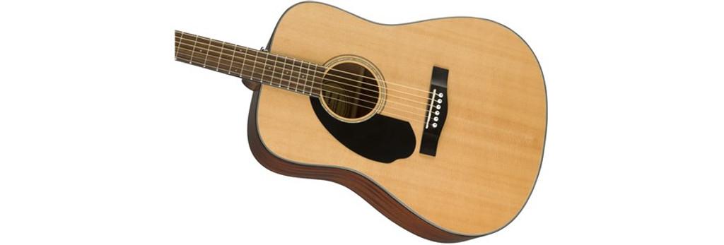 Fender CD60S Left-Handed Acoustic Guitar Offset Front Facing