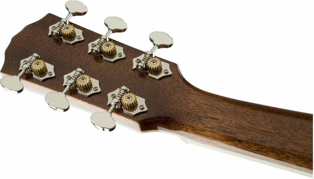 Fender PM1S PM-1 Standard Dreadnaught Headstock Rear Facing