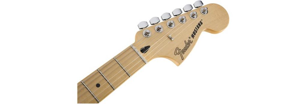 Fender Mustang Headstock Front Facing