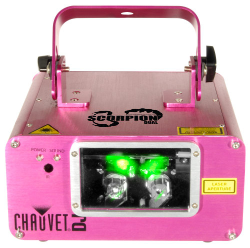 CHAUVET SCORPDUAL Dual Beam Laser
