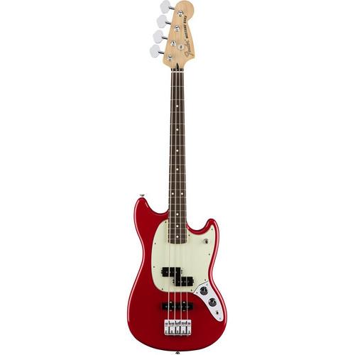 Fender Mustang Bass PJ - Torino Red- Front