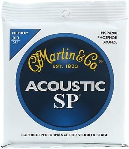 Martin  MSP4200 92/8 Phosphor Bronze Medium