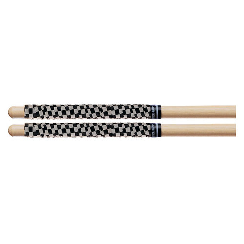 White/Black Check Stick Rapp