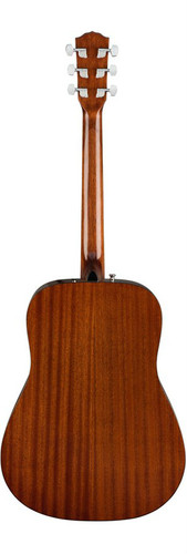Fender CD60S Solid-Top Acoustic Guitar Rear Facing