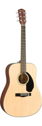 Fender CD60S Solid-Top Acoustic Guitar Front Facing