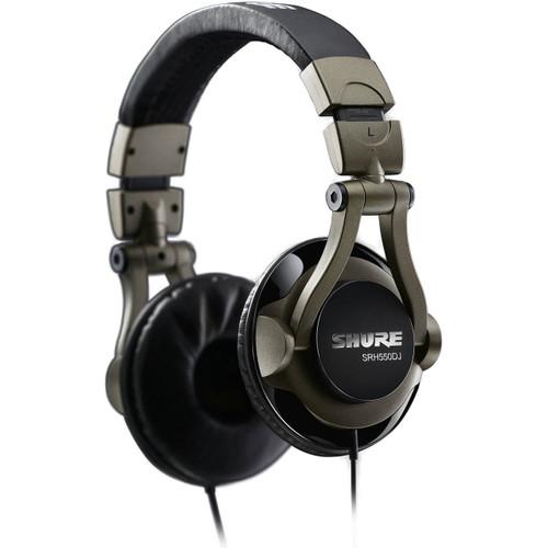 SHURE SRH550 DJ Headphones