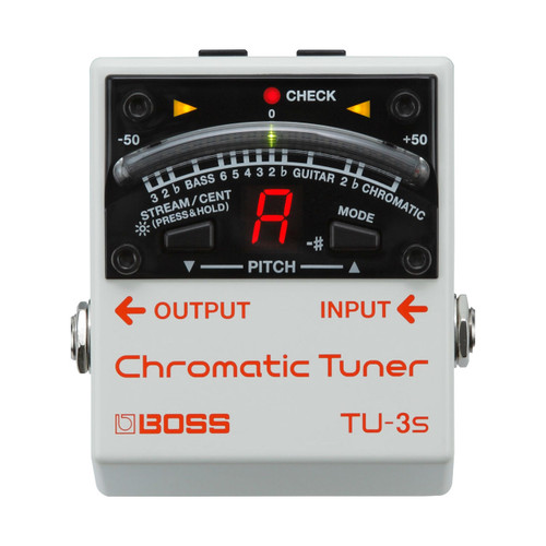 Boss TU3s Chromatic Tuner