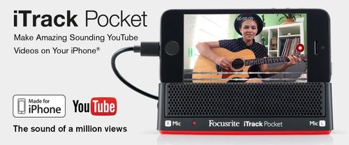 FOCUSRITE iTrack Pocket iPhone Recording Interface