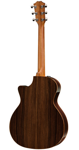 Taylor 714CE Grand Auditorium Cutaway Rear Facing