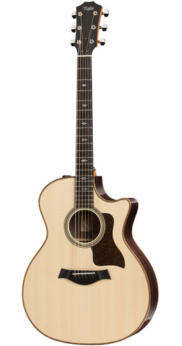 Taylor 714CE Grand Auditorium Cutaway Front Facing