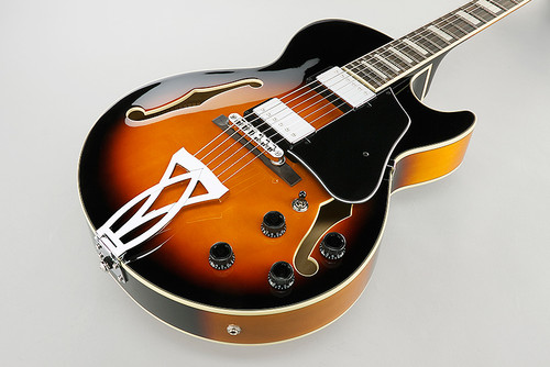 Ibanez AG75BS Semi-Hollow - Side 2