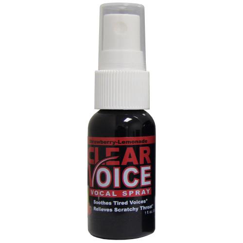CLEAR VOICE STRLEMON Vocal Spray - Strawberry Lemonade