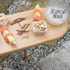 "Mini Picnic Table w/ Stake 15.5""x7.5"""