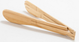 Custom Bamboo Salad Tongs