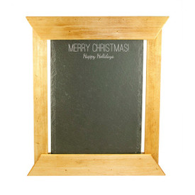 "Holiday Artisan Slate/Chalk Menu 14""x12"""