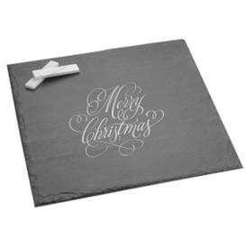 "Holiday Slate Server/Board 12"" x 12"""