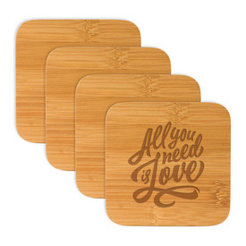 All American Bamboo Coasters