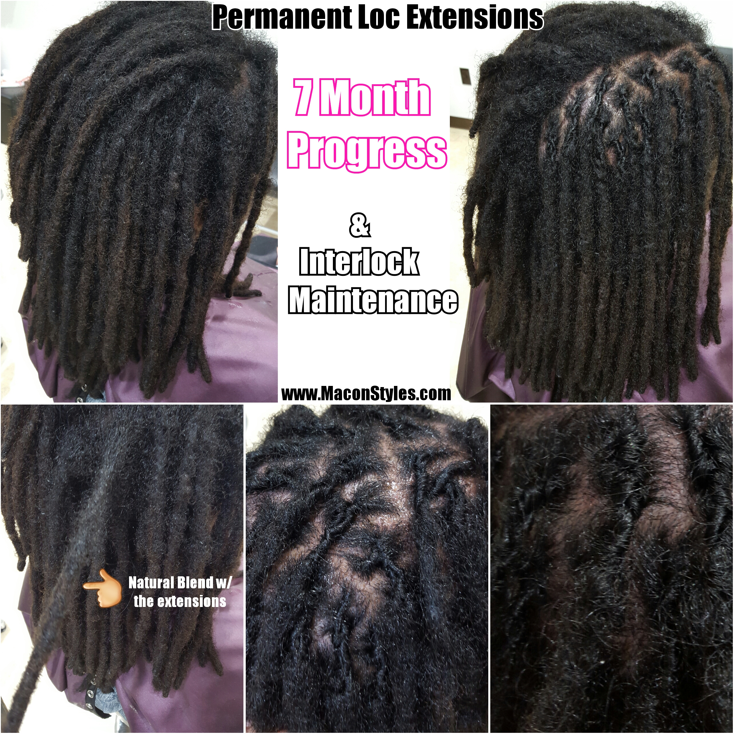 Interlocking Vs Palm Rolling On Loc Roots Macon Styles