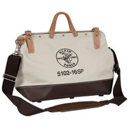 18 Canvas Tool Bag Combo with Pockets/Shoulder Strap