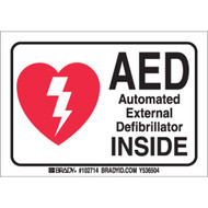 102714 AED Sign