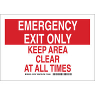123787 Exit Sign