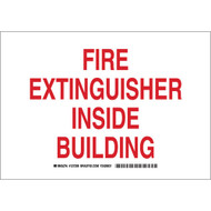127208 Fire Safety Sign