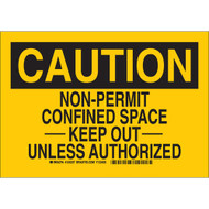 124237 Confined Space Sign