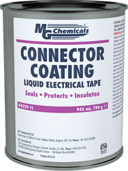 CONNECTOR COATING, NAPTHA RUBBER SOLVENT