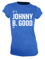 Women's Tampa Bay Lightning Old Time Hockey Johhny B. Good Social Inspired T-Shirt