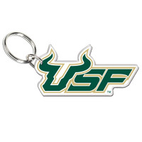 USF Bulls Acrylic Key Ring