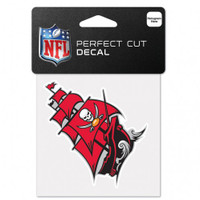 "Tampa Bay Buccaneers Perfect Cut Color Decal 4""X4"""
