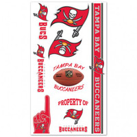 Tampa Bay Buccaneers Temporary Tattoos