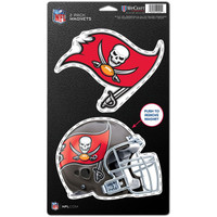 "Tampa Bay Buccaneers WinCraft 5"" x 9"" 2-Pack Magnet Set"
