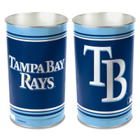 Tampa Bay Rays WinCraft Tapered Wastebasket