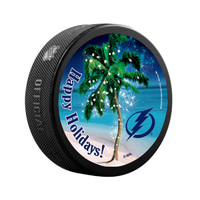 Tampa Bay Lightning Limited Edition Holiday Puck