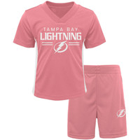 Tampa Bay Lightning Girl's Infant Short Set